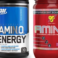 Сравнение BSN Amino X и Optimum Essential Amino Energy